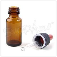 Bottiglia in vetro 10ml con contagocce