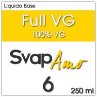 Liquido Base Full VG 6mg 250ml - SvapAmo