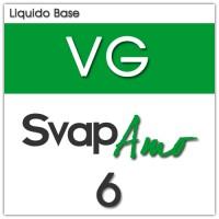 Liquido Base VG 6mg 250ml - SvapAmo