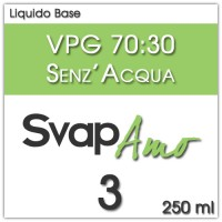Liquido Base VPG 70:30 3mg 250ml - SvapAmo