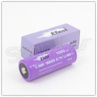 Batteria Efest Viola IMR 18500 1000mAh - Pin Sporgente