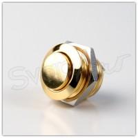 Pulsante 16mm Oro - Pin a Saldare